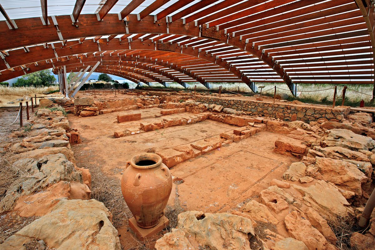 The archaeological site of Malia
