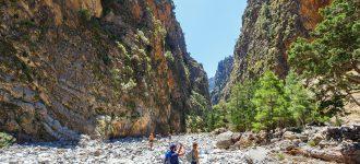 Crossing Samaria Gorge