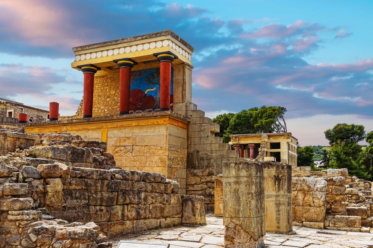Visit the Minoan Palace of Knossos