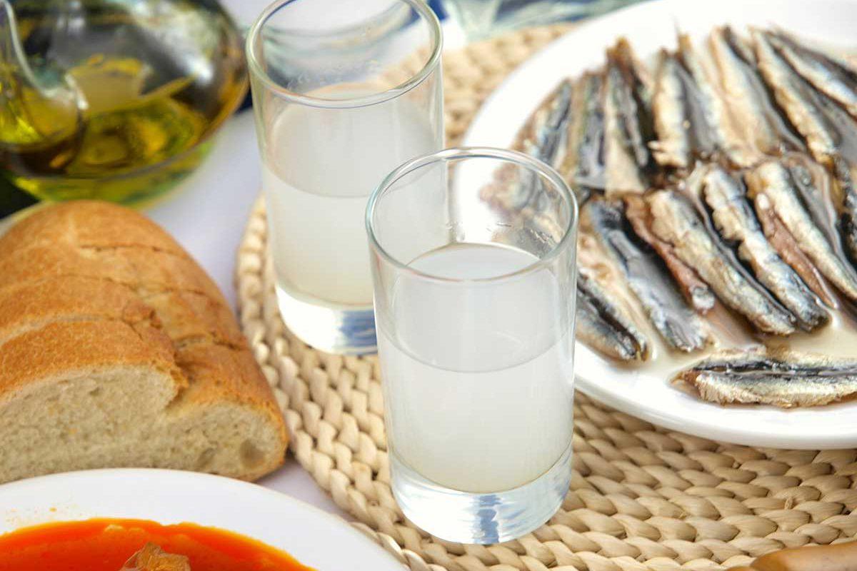 Greek Taverna: Meze and Retsina Wine